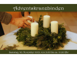 Adventskranzbinden 2019