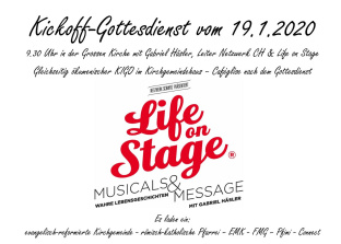 Bild Life on stage flyer<div class='url' style='display:none;'>/kg/lyss/</div><div class='dom' style='display:none;'>kirchenregion-aarberg.ch/</div><div class='aid' style='display:none;'>80</div><div class='bid' style='display:none;'>14603</div><div class='usr' style='display:none;'>63</div>